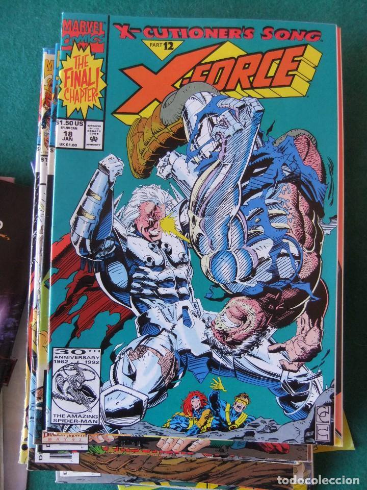 Cómics: X-FORCE LOTE DE 39 NUMEROS ORIGINALES MARVEL U.S.A. - Foto 14 - 110190819