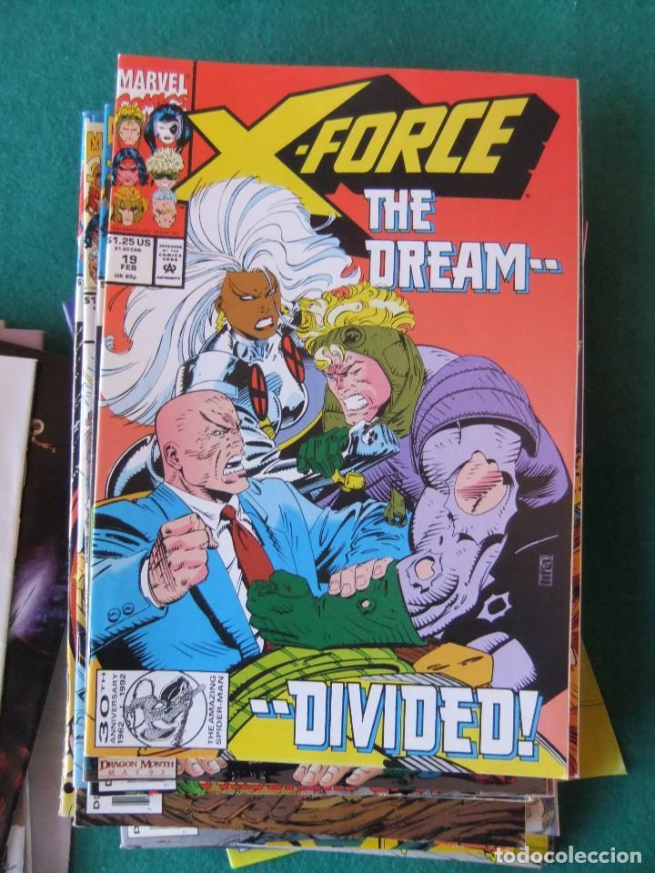 Cómics: X-FORCE LOTE DE 39 NUMEROS ORIGINALES MARVEL U.S.A. - Foto 15 - 110190819