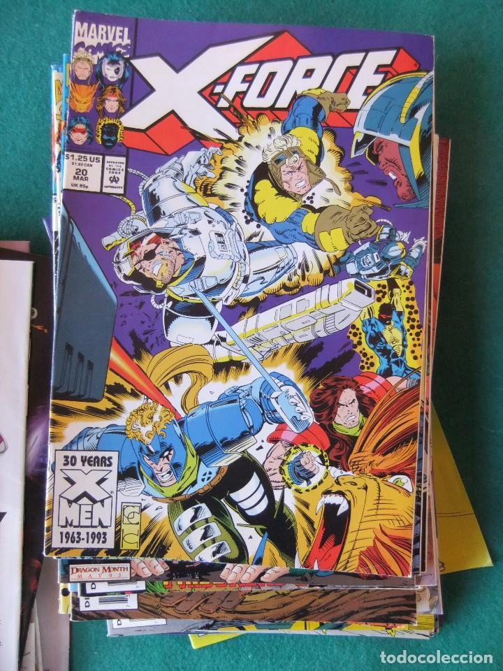Cómics: X-FORCE LOTE DE 39 NUMEROS ORIGINALES MARVEL U.S.A. - Foto 16 - 110190819