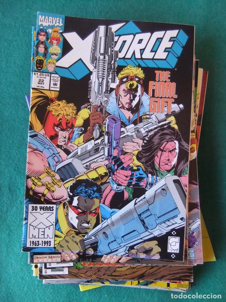 Cómics: X-FORCE LOTE DE 39 NUMEROS ORIGINALES MARVEL U.S.A. - Foto 18 - 110190819