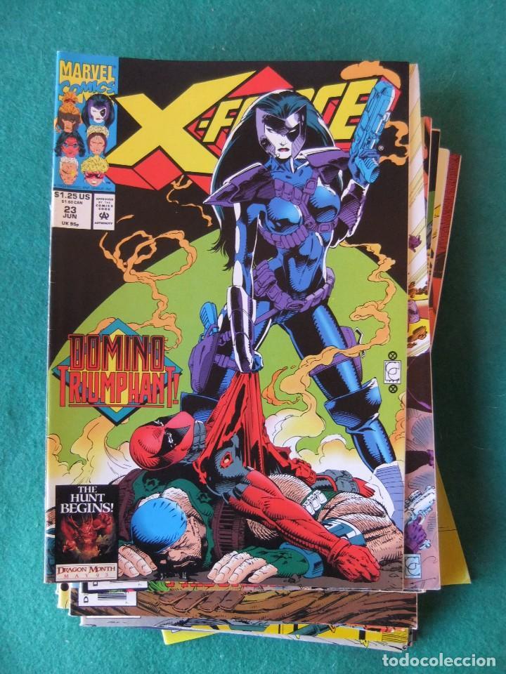 Cómics: X-FORCE LOTE DE 39 NUMEROS ORIGINALES MARVEL U.S.A. - Foto 19 - 110190819