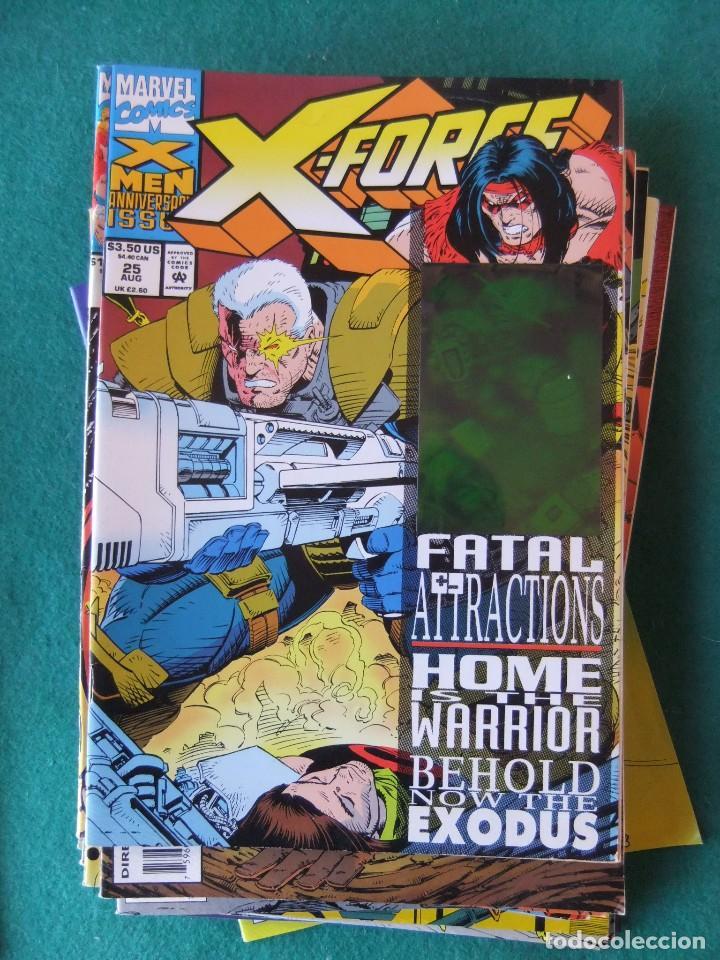 Cómics: X-FORCE LOTE DE 39 NUMEROS ORIGINALES MARVEL U.S.A. - Foto 21 - 110190819