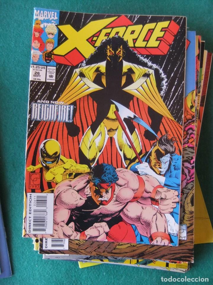 Cómics: X-FORCE LOTE DE 39 NUMEROS ORIGINALES MARVEL U.S.A. - Foto 22 - 110190819