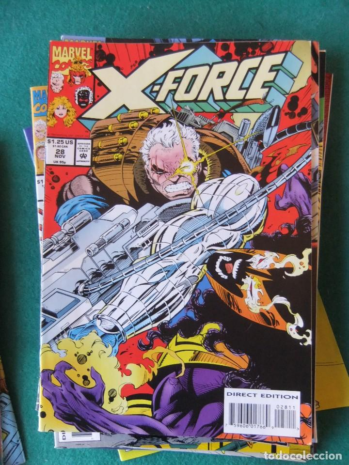 Cómics: X-FORCE LOTE DE 39 NUMEROS ORIGINALES MARVEL U.S.A. - Foto 24 - 110190819