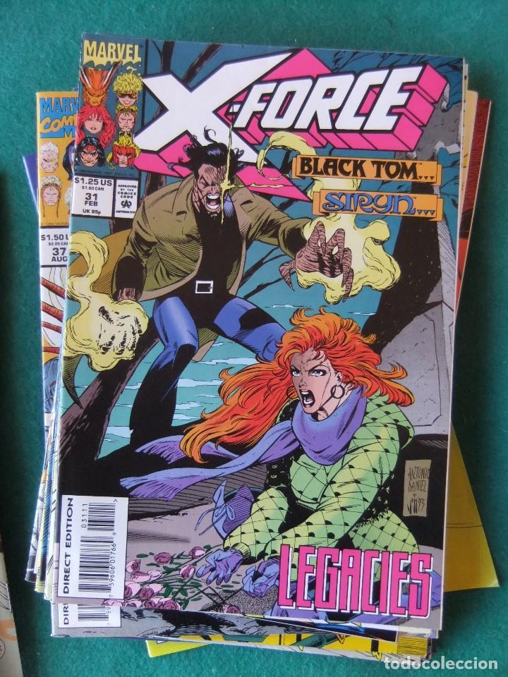 Cómics: X-FORCE LOTE DE 39 NUMEROS ORIGINALES MARVEL U.S.A. - Foto 27 - 110190819