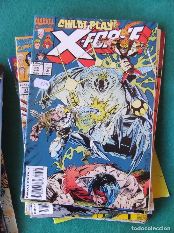 Cómics: X-FORCE LOTE DE 39 NUMEROS ORIGINALES MARVEL U.S.A. - Foto 29 - 110190819