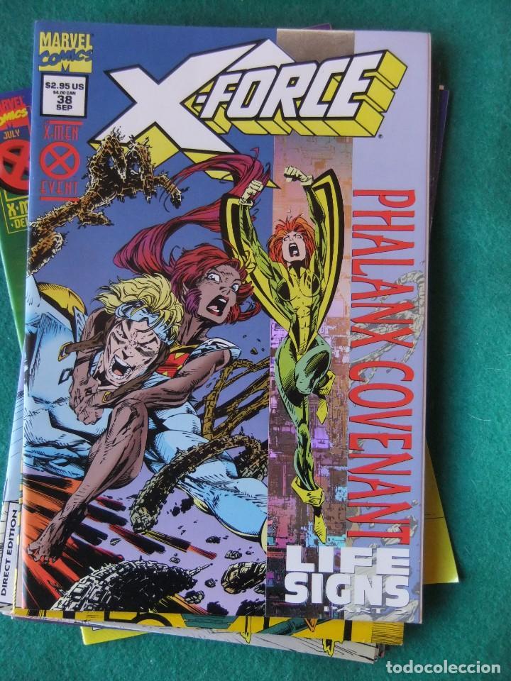 Cómics: X-FORCE LOTE DE 39 NUMEROS ORIGINALES MARVEL U.S.A. - Foto 34 - 110190819