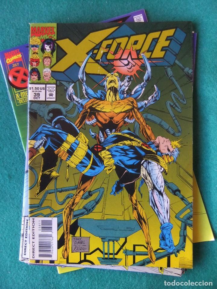 Cómics: X-FORCE LOTE DE 39 NUMEROS ORIGINALES MARVEL U.S.A. - Foto 35 - 110190819