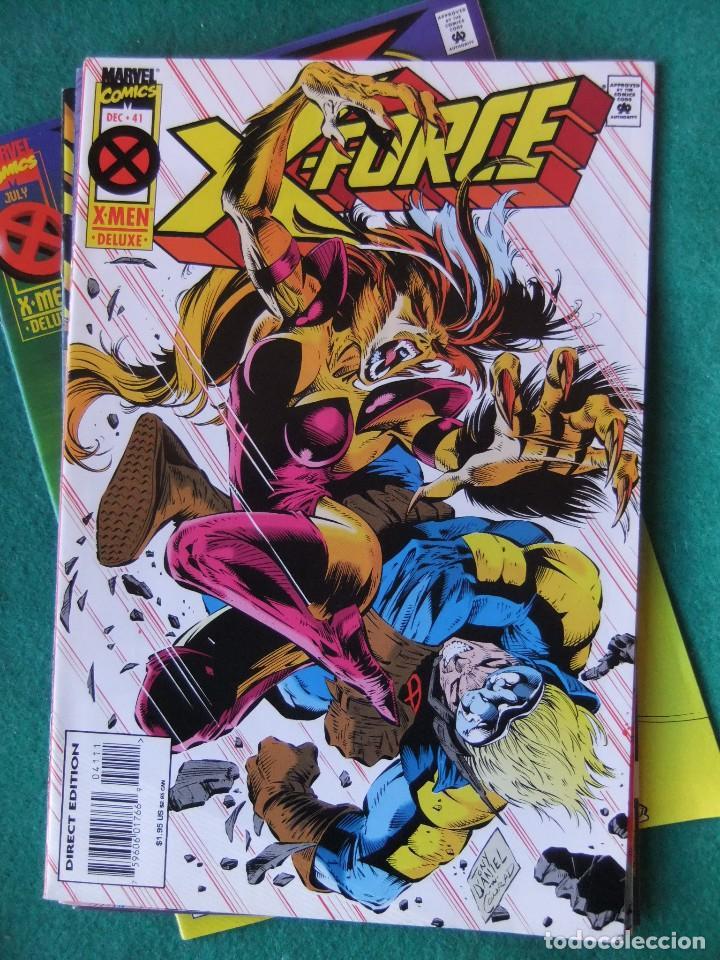 Cómics: X-FORCE LOTE DE 39 NUMEROS ORIGINALES MARVEL U.S.A. - Foto 37 - 110190819