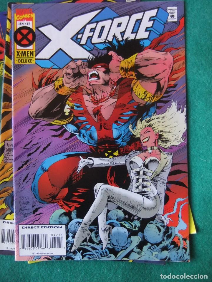 Cómics: X-FORCE LOTE DE 39 NUMEROS ORIGINALES MARVEL U.S.A. - Foto 38 - 110190819
