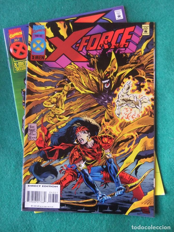 Cómics: X-FORCE LOTE DE 39 NUMEROS ORIGINALES MARVEL U.S.A. - Foto 39 - 110190819