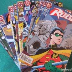 Cómics: ROBIN LOTE DE 19 NUMEROS ORIGINALES D.C. COMICS U.S.A.. Lote 110452471