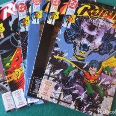 Cómics: ROBIN III MINISERIE DE 6 NUMEROS ORIGINALES D.C. COMICS U.S.A.. Lote 110452655