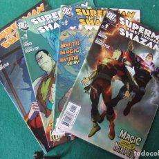 Cómics: SUPERMAN FIRST THUNDER SHAZAM SERIE DE 4 NUMEROS ORIGINALES D.C. COMICS U.S.A.. Lote 110525015