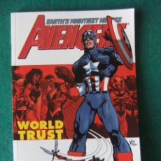 Cómics: AVENGERS WORLD TRUST ORIGINAL MARVEL U.S.A.. Lote 110526795