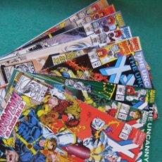 Cómics: X-MEN Y THE UNCANNY X-MEN LOTE DE 9 NUMEROS ORIGINALES MARVEL COMICS U.S.A.. Lote 110866611