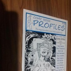 Cómics: COMIC BOOK PROFILES 5. EN INGLÉS. REVISTA DE INFORMACIÓN DE COMIC. GRAPA. BUEN ESTADO. Lote 111302695