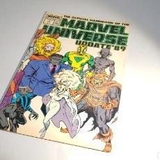 Cómics: OFFICIAL HANDBOOK MARVEL UNIVERSE MUY BUEN ESTADO USA MARVEL. Lote 111411599