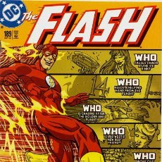 Cómics: THE FLASH #189, DC COMICS, 2.002, USA. Lote 111415243