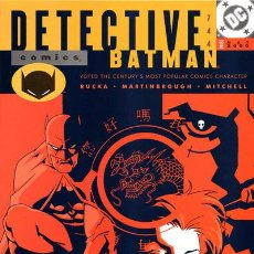 DETECTIVE COMICS #744, DC COMICS, 2.000, USA