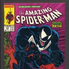 LOTE AMAZING SPIDER-MAN!! 2 COMICS USA SPIDERMAN 298 Y 316. VENOM. MCFARLANE.