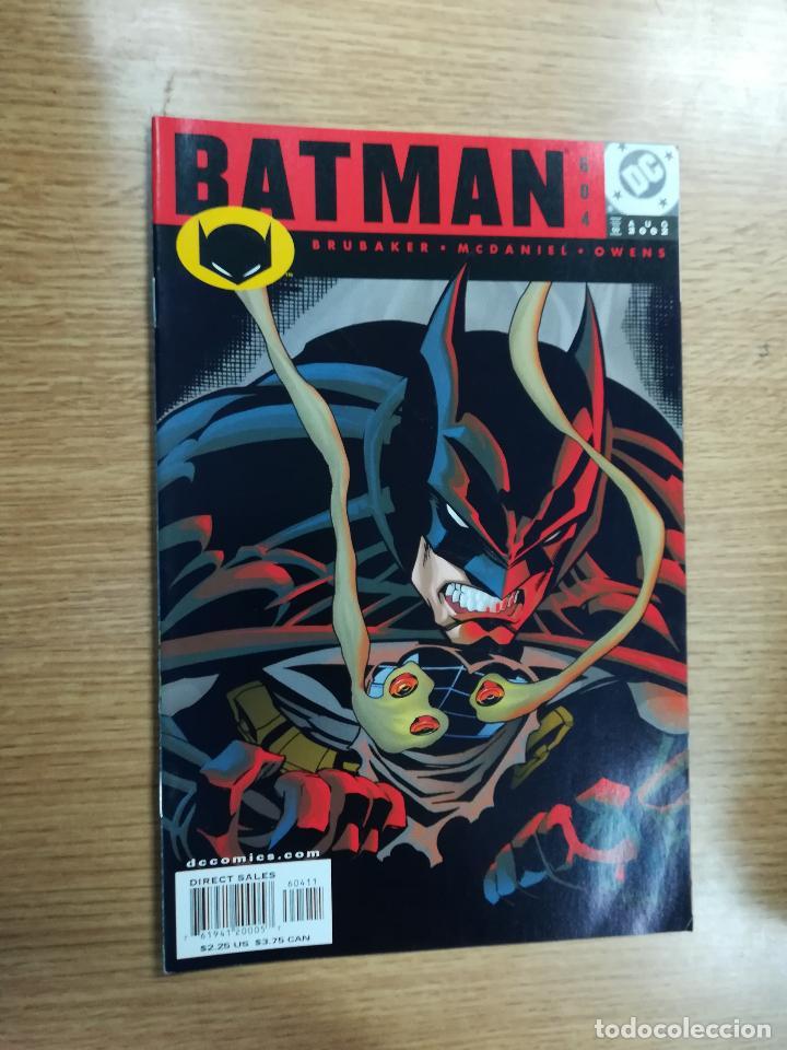BATMAN (1940) #604 (Tebeos y Comics - Comics Lengua Extranjera - Comics USA)
