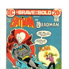 Cómics: BRAVE AND BOLD 104 BATMAN AND DEADMAN - DC 1972 VG-. Lote 112441227