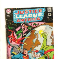 Cómics: JUSTICE LEAGUE OF AMERICA 71 - MARVEL 1969 VG. Lote 112455183