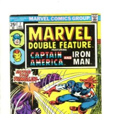Cómics: MARVEL DOUBLE FEATURE 7 - 1974 - VG - CAPTAIN AMERICA / IRON MAN / JACK KIRBY / GENE COLAN. Lote 112533371