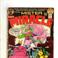 Cómics: MISTER MIRACLE 8 - DC 1972 VG- / JACK KIRBY. Lote 112534771