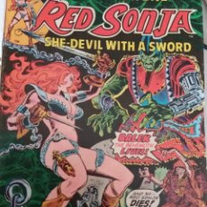Cómics: RED SONJA, MARVEL FEATURE Nº 3, FRANK THORNE, 1976. Lote 114253807