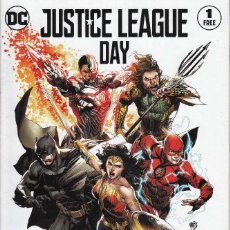 Cómics: JUSTICE LEAGUE DAY # 1 (DC,2017) - GEOFF JOHNS - JIM LEE. Lote 114301343