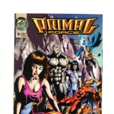 Cómics: PRIMAL FORCE 5 - DC 1995 VFN/NM. Lote 114501939