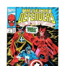 Cómics: SECRET DEFENDERS 7 - MARVEL 1993 VFN/NM / SPIDER-MAN / DOCTOR STRANGE / CAPTAIN AMERICA. Lote 114502555