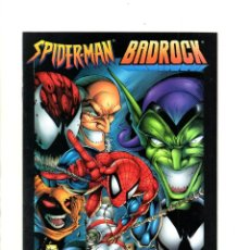Cómics: SPIDER-MAN / BADROCK - MARVEL / MAXIMUM PRESS 1997 VFN/NM / VARIANT COVER. Lote 114503135