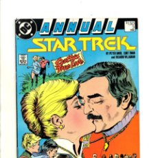 Cómics: STAR TREK ANNUAL 3 - DC 1988 FN. Lote 114503667