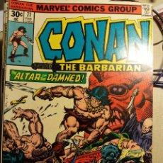 Cómics: CONAN THE BARBARIAN, Nº 71, 1977, BUSCEMA. Lote 115010059