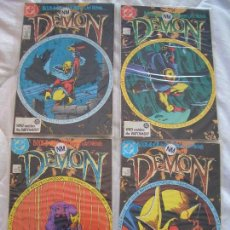 Cómics: THE DEMON #1-4 (DC, 1987). Lote 115543463