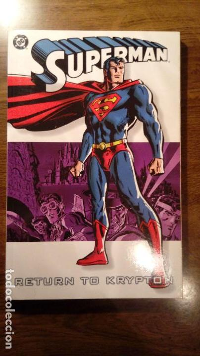 SUPERMAN RETURN TO KRYPTON. DC COMICS. 2004. AMERICANO. JOHNS, LOEB, MCGUINNESS, FERRY. (Tebeos y Comics - Comics Lengua Extranjera - Comics USA)