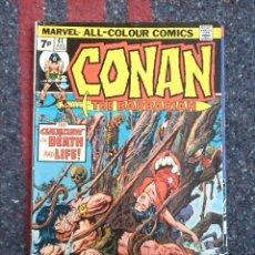 Cómics: CONAN THE BARBARIAN # 41 - UK VARIANT. Lote 116085343