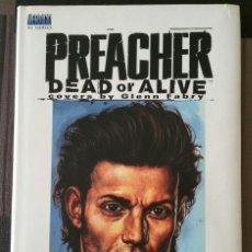 Cómics: PREACHER: DEAD OR ALIVE. THE COLLECTED COVERS BY GLENN FABRY. VERTIGO – DC. 2000. Lote 116426907