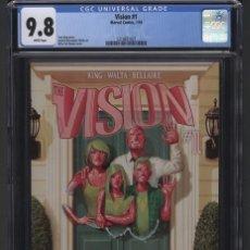 Cómics: VISION # 1 CGC 9.8 HERNÁNDEZ WALTA. Lote 116452411