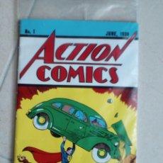 Cómics: ACTION COMICS, NÚM. 1. EL ORIGEN DE SUPERMAN. FACSÍMIL CON CERTIFICADO DE AUTENTICIDAD DE DC COMICS. Lote 122000583