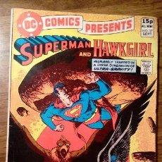 Cómics: DC COMICS PRESENTS SUPERMAN AND HAWKGIRL. Nº 37. ORIGINAL USA. 1981. JIM STARLIN Y ROY THOMAS. Lote 117154383