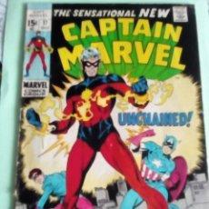 Cómics: CAPITAN MARVEL N-17 USA PRIMERA APARICION CON NUEVO TRAJE. Lote 117315135