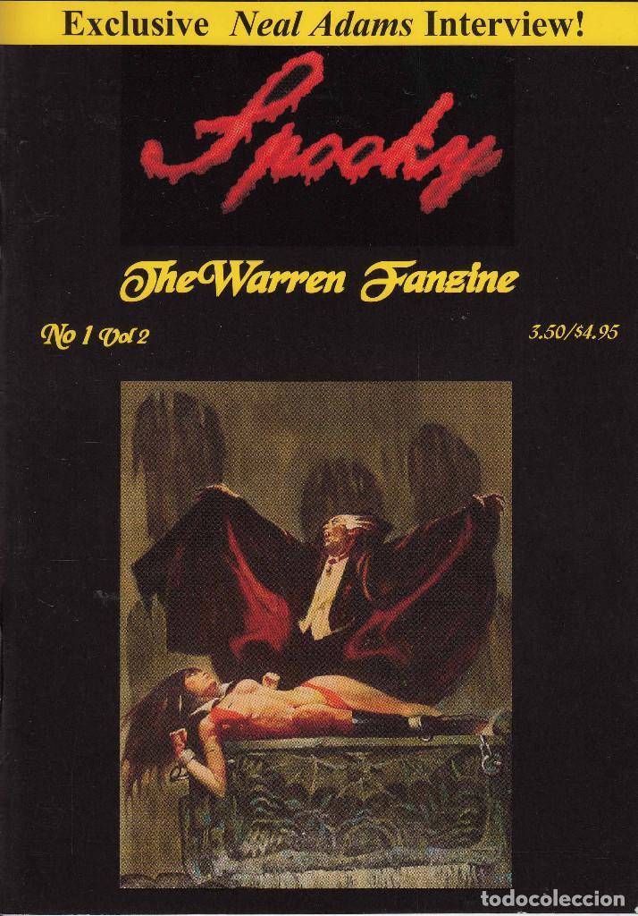Cómics: COMPLETA - SPOOKY THE WARREN FANZINE vol.2 # 1 al 5 (2004-2006) - EISNER - TOTH - COLAN - FRAZETTA - Foto 2 - 117353911
