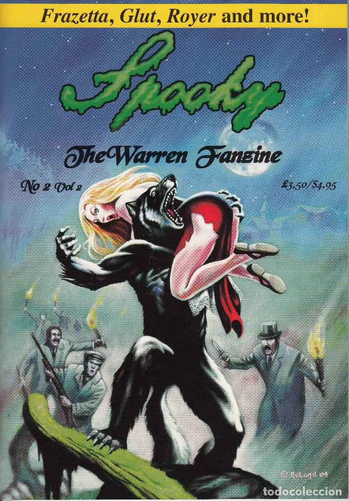 Cómics: COMPLETA - SPOOKY THE WARREN FANZINE vol.2 # 1 al 5 (2004-2006) - EISNER - TOTH - COLAN - FRAZETTA - Foto 4 - 117353911