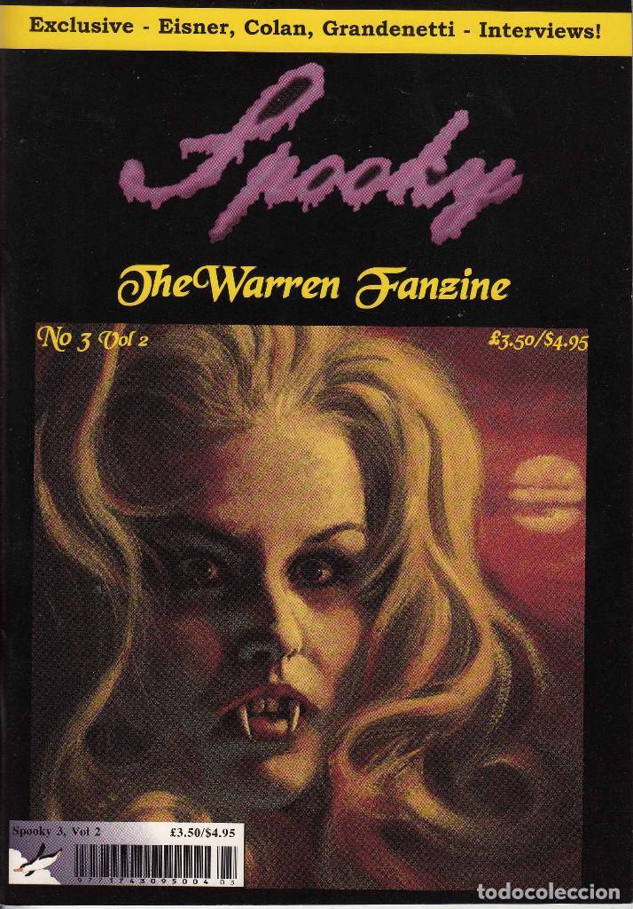 Cómics: COMPLETA - SPOOKY THE WARREN FANZINE vol.2 # 1 al 5 (2004-2006) - EISNER - TOTH - COLAN - FRAZETTA - Foto 6 - 117353911