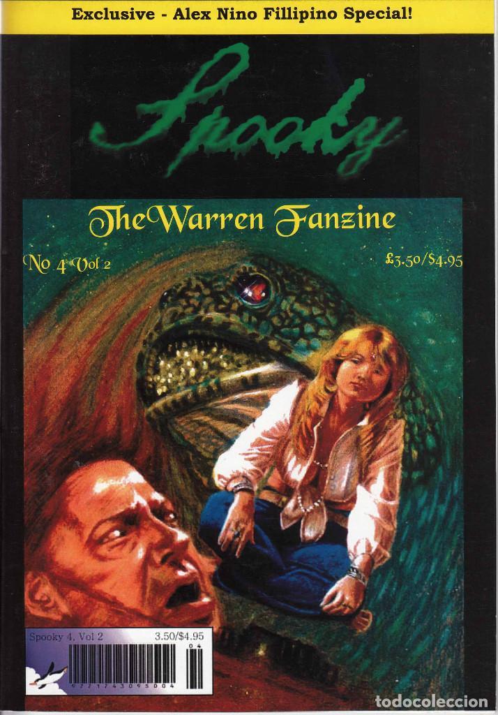 Cómics: COMPLETA - SPOOKY THE WARREN FANZINE vol.2 # 1 al 5 (2004-2006) - EISNER - TOTH - COLAN - FRAZETTA - Foto 8 - 117353911