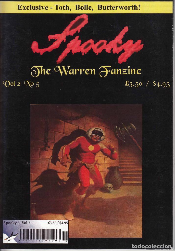 Cómics: COMPLETA - SPOOKY THE WARREN FANZINE vol.2 # 1 al 5 (2004-2006) - EISNER - TOTH - COLAN - FRAZETTA - Foto 10 - 117353911